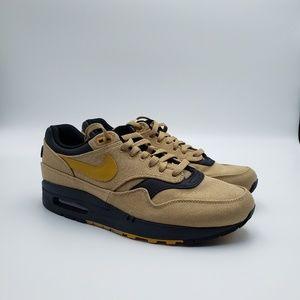 Nike Air Max 1 Premium Elemental Gold size 9